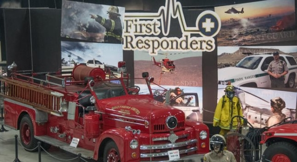 San Diego Automotive Museum Showcases First Responders Exhibition